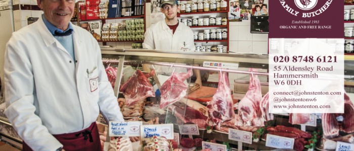 John Stenton, Hammersmith butchers, Brackenbury butchers