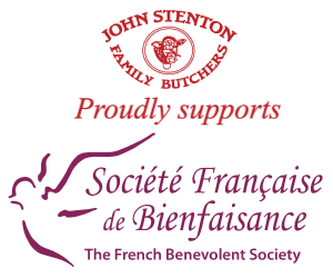 John Stenton family butchers proudly supports The French Benevolent Society